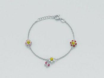 Bracciale Miluna in argento Baby - Luna Argento BRD555AG