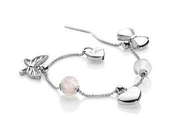 Bracciale Miluna in argento Love BRD678AG