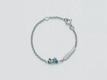 Bracciale Miluna in argento Baby - Luna Argento BRD680AG