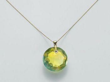 Collana Miluna in oro e diamanti Invisible Cut CLD3439G