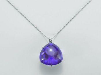 Collana Miluna in oro e diamanti Invisible Cut CLD3451B