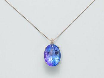 Collana Miluna in oro e diamanti Invisible Cut CLD3454R