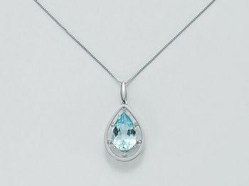 Collana Miluna in oro e diamanti Oro 375 Parure Gemma Del Cielo CLD3677X