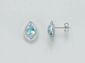 Orecchini Miluna in oro e diamanti Parure Gemma Del Cielo ERD2083