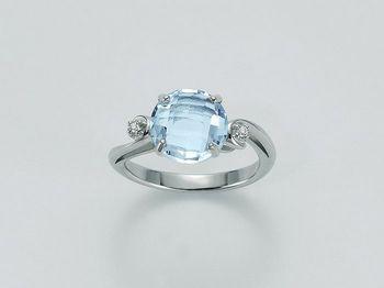 Anello Miluna in oro e diamanti Parure Gemma Del Cielo LID2511