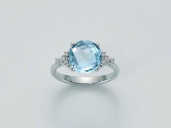 Anello Miluna in oro e diamanti Parure Gemma Del Cielo LID2566