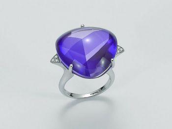 Anello Miluna in oro e diamanti Invisible Cut LID2820B