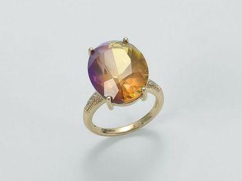 Anello Miluna in oro e diamanti Invisible Cut LID2822G