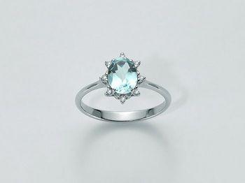 Anello Miluna in oro e diamanti Parure Gemma Del Cielo LID2923