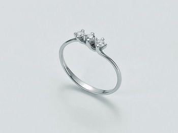 Anello Miluna in oro e diamanti I Solitari H Si LID2935_009S