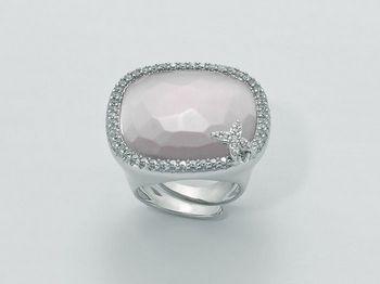 Anello Miluna in argento Giglio LID2948