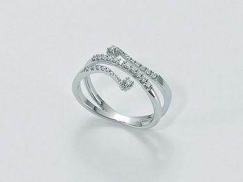 Anello Miluna in oro e diamanti Parure Diamanti LID2977