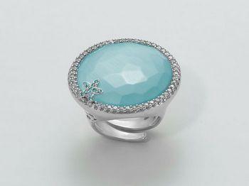 Anello Miluna in argento Giglio LID2983
