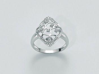Anello Miluna in oro e diamanti Oro 375 Parure Diamanti LID2986X