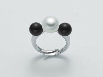 Anello con perle Miluna in argento Terra e Mare LID3030