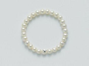 Bracciale Miluna in argento con perle Perle Fashion PBR1666