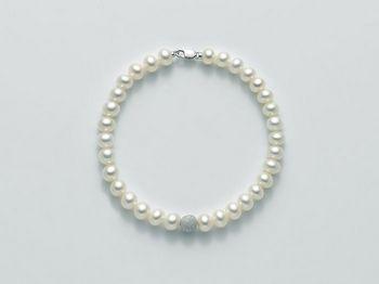 Bracciale Miluna in oro con perle Filo Della Bellezza PBR1937