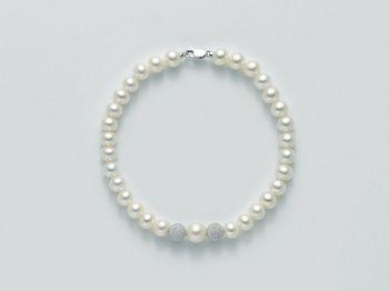 Bracciale Miluna in oro con perle Filo Della Bellezza PBR1944