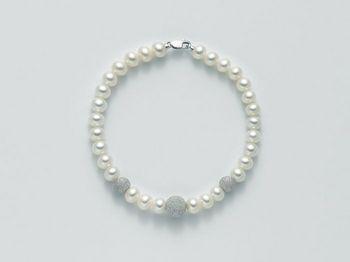 Bracciale Miluna in oro con perle Filo Della Bellezza PBR1948
