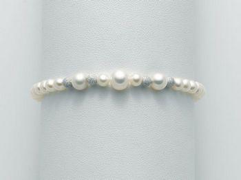 Bracciale Miluna in oro con perle Marco Polo PBR1967