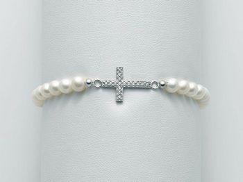 Bracciale Miluna in argento con perle Brio PBR1982