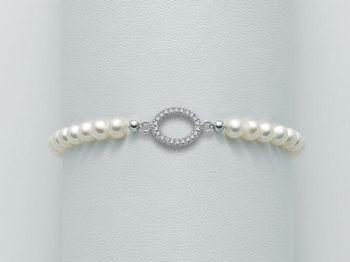 Bracciale Miluna in argento con perle Brio PBR1983
