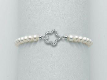 Bracciale Miluna in argento con perle Brio PBR1984