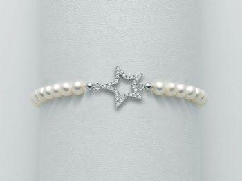 Bracciale Miluna in argento con perle Brio PBR1986
