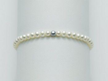 Bracciale Miluna in oro con perle I Bracciali Perle PBR2030
