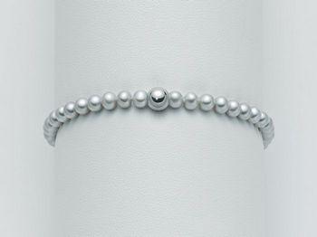 Bracciale Miluna in oro con perle I Bracciali Perle PBR2031
