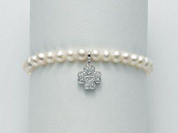 Bracciale Miluna in argento con perle Brio PBR2060