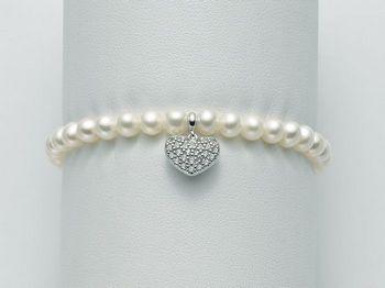 Bracciale Miluna in argento con perle Brio PBR2061