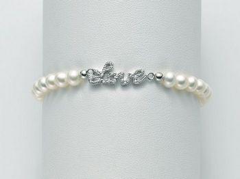 Bracciale Miluna in argento con perle Brio PBR2063