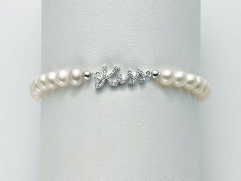 Bracciale Miluna in argento con perle Brio PBR2064