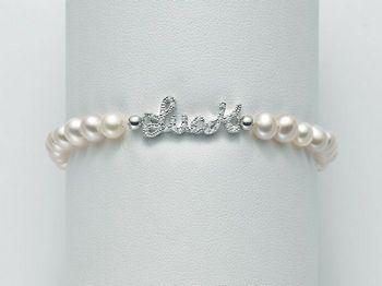 Bracciale Miluna in argento con perle Brio PBR2065