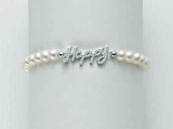 Bracciale Miluna in argento con perle Brio PBR2066