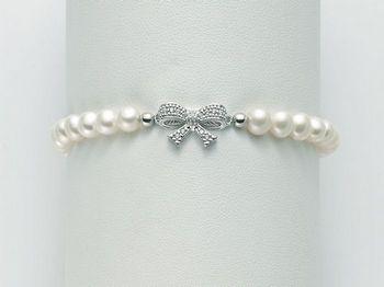 Bracciale Miluna in argento con perle Brio PBR2067