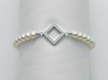 Bracciale Miluna in argento con perle Brio PBR2181
