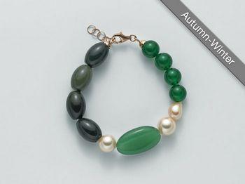 Bracciale Miluna in argento con perle I Segreti Della Terra PBR2224