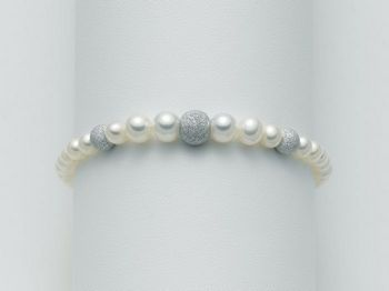 Bracciale Miluna in oro con perle Marco Polo PBR999