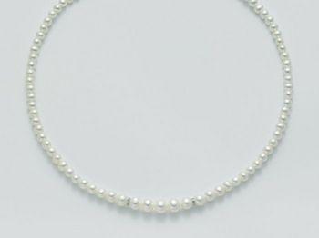 Collana Miluna in oro e diamanti con perle Le Collane Perle PCL3082