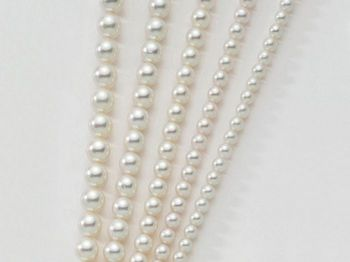 Collana Miluna in oro con perle I Fili Regina Lr Special PCL4195LV
