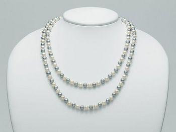 Collana Miluna in oro con perle Perle Fashion PCL4267V