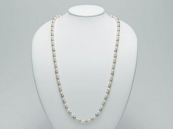 Collana Miluna in oro con perle Perle Fashion PCL4270V