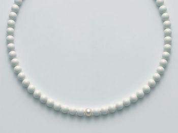 Collana Miluna in oro con perle bianche Terra e Mare PCL4442