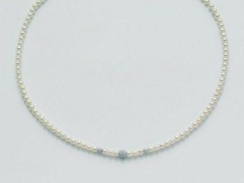Collana Miluna in oro con perle Filo Della Bellezza PCL4533