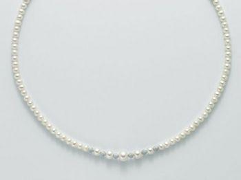 Collana Miluna in oro con perle Marco Polo PCL4676