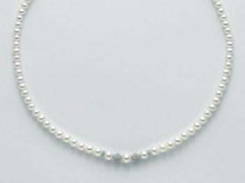 Collana Miluna in oro con perle Marco Polo PCL4679