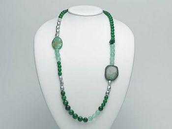 Collana Miluna in argento con perle I Segreti Della Terra PCL4752
