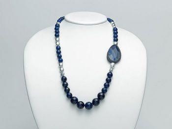 Collana Miluna in argento con perle I Segreti Della Terra PCL4753